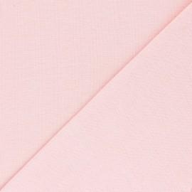 Jersey tubulaire Bio - baby rose x 10cm
