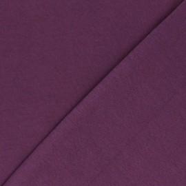 Jersey tubulaire Bio - violet x 10cm