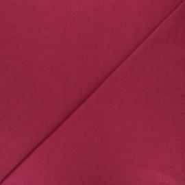 Jersey tubulaire Bio - pourpre x 10cm