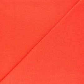 Jersey tubulaire Bio - orange x 10cm