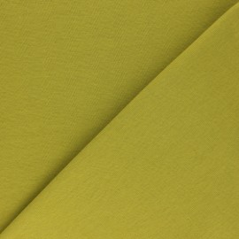 Organic tubular Jersey fabric - avocado green x 10cm