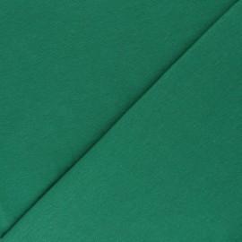 Jersey tubulaire Bio - vert prairie x 10cm