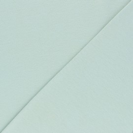 Jersey tubulaire Bio - vert amande x 10cm