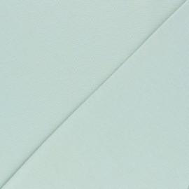 Organic tubular Jersey fabric - almond green x 10cm