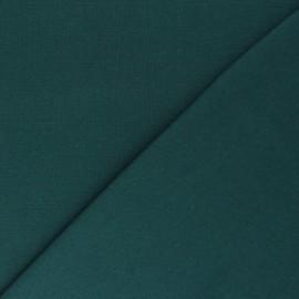 Jersey tubulaire Bio - émeraude x 10cm