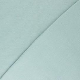 Jersey tubulaire Bio - vert d'eau x 10cm