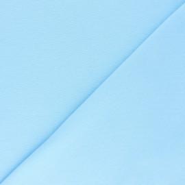 Organic tubular Jersey fabric - sky blue x 10cm