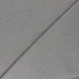 Organic tubular Jersey fabric - grey x 10cm
