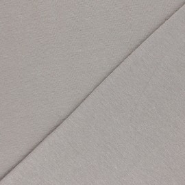 Jersey tubulaire Bio - taupe x 10cm