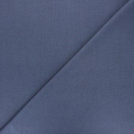 Organic tubular Jersey fabric - lead grey x 10cm