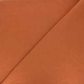 Jersey tubulaire Bio - ambre x 10cm