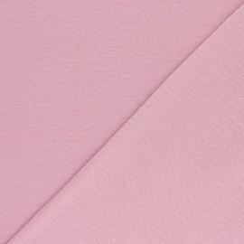 Jersey tubulaire Bio - rose x 10cm