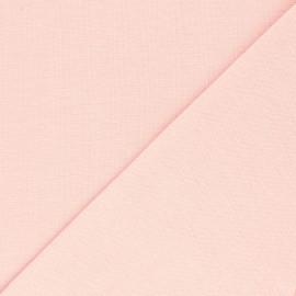 Jersey tubulaire Bio - blush x 10cm