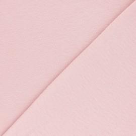 Jersey tubulaire Bio - rose clair x 10cm