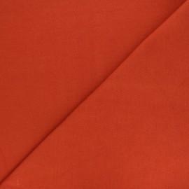 Jersey tubulaire Bio - rouille x 10cm