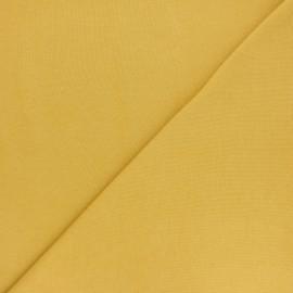 Jersey tubulaire Bio - safran x 10cm
