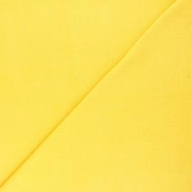 Organic tubular Jersey fabric - mimosa yellow x 10cm