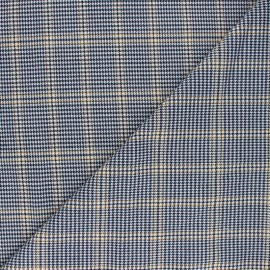 Polyviscose elastane fabric - yellow Barbican x 10cm