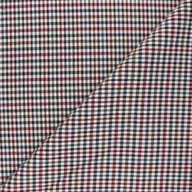 Polyviscose elastane fabric - burgundy Mayfair x 10cm