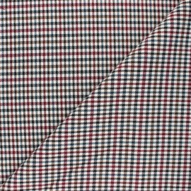 Tissu polyviscose élasthanne Mayfair - bordeaux x 10cm