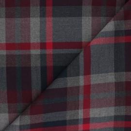 Polyviscose elastane fabric - navy blue Blackfriars x 10cm