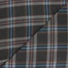 Tissu polyviscose élasthanne Waterloo - gris x 10cm