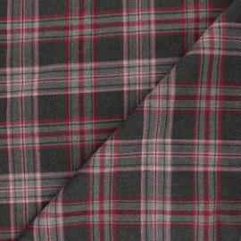 Polyviscose elastane fabric - rose Kensington x 10cm