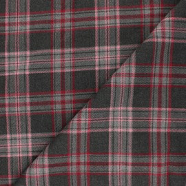 Tissu polyviscose élasthanne Kensington - rose x 10cm