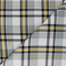 Tissu polyviscose élasthanne Lambeth - gris x 10cm