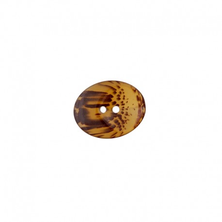 Polyester Button Agate - scale
