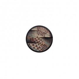 Polyester Button - grey Belvaros