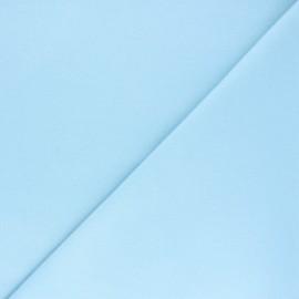 Plain Flannel Fabric - sky blue Douceur x 10cm