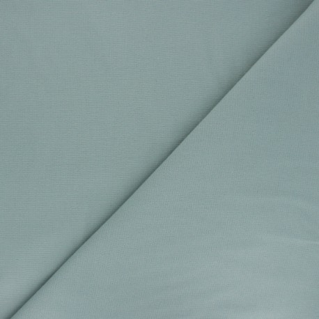 Plain Flannel Fabric - celadon green Douceur x 10cm