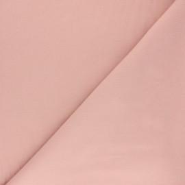 Tissu Flanelle Douceur - rose poudré x 10cm