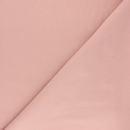 Plain Flannel Fabric - powder pink Douceur x 10cm