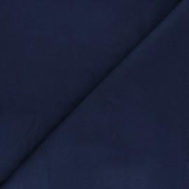 Tissu Flanelle Douceur - bleu marine x 10cm