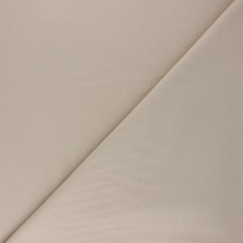 Plain Flannel Fabric - beige Douceur x 10cm