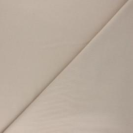 Plain Flannel Fabric - beige Douceur x 10cm