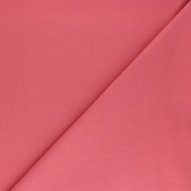 Plain Flannel Fabric - pink Douceur x 10cm