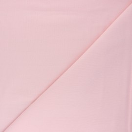 Plain Flannel Fabric - baby pink Douceur x 10cm