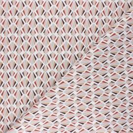Tissu coton cretonne Payani - rose x 10cm
