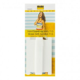Support droit fil Vlieseline 15 mm - Blanc