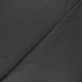 Tissu coton lavé Unico - gris foncé x 10cm