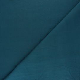 Tissu coton lavé Unico - paon x 10cm