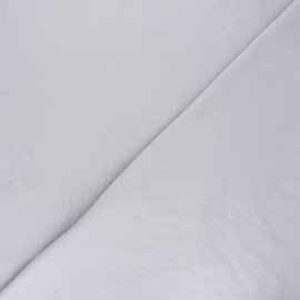 Tissu coton lavé Unico - gris x 10cm