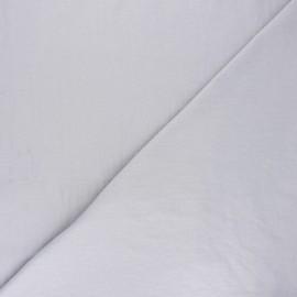 Washed cotton fabric - grey Unico x 10cm