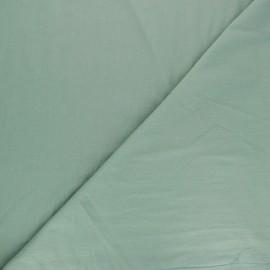 Tissu coton lavé Unico - vert sauge x 10cm