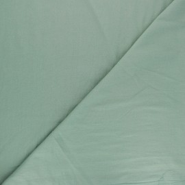 Washed cotton fabric - sage green Unico x 10cm