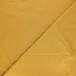 Washed cotton fabric - mustard yellow Unico x 10cm