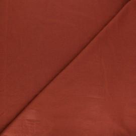 Tissu coton lavé Unico - tomette x 10cm